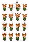 Afbeelding 16 emoties