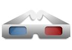 Afbeelding 3D bril