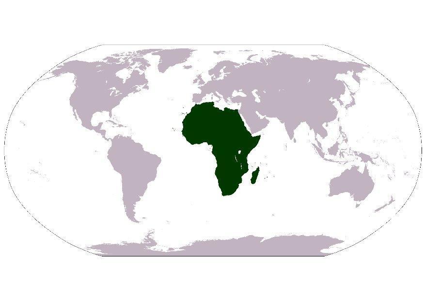 Afbeelding Prent Afrika Afb 8103 Images