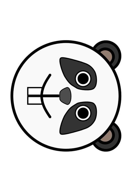 Afbeelding Prent R1 Panda Afb 10477