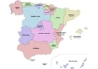 Afbeelding Spanje - autonome regio's