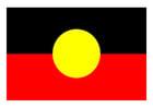 Afbeelding Aboriginalvlag