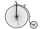 Afbeelding antieke fiets