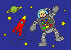 Afbeelding astronaut