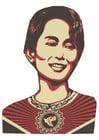 Afbeelding Aung San Suu Kyi