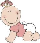 Afbeelding baby meisje