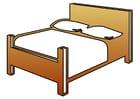 Afbeelding bed
