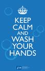 Afbeelding blijf rustig en was je handen