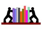 Afbeelding boekensteunen