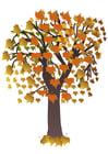 Afbeelding boom in herfst