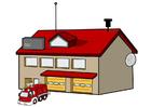 Afbeelding brandweerkazerne