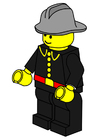 Afbeelding brandweerman
