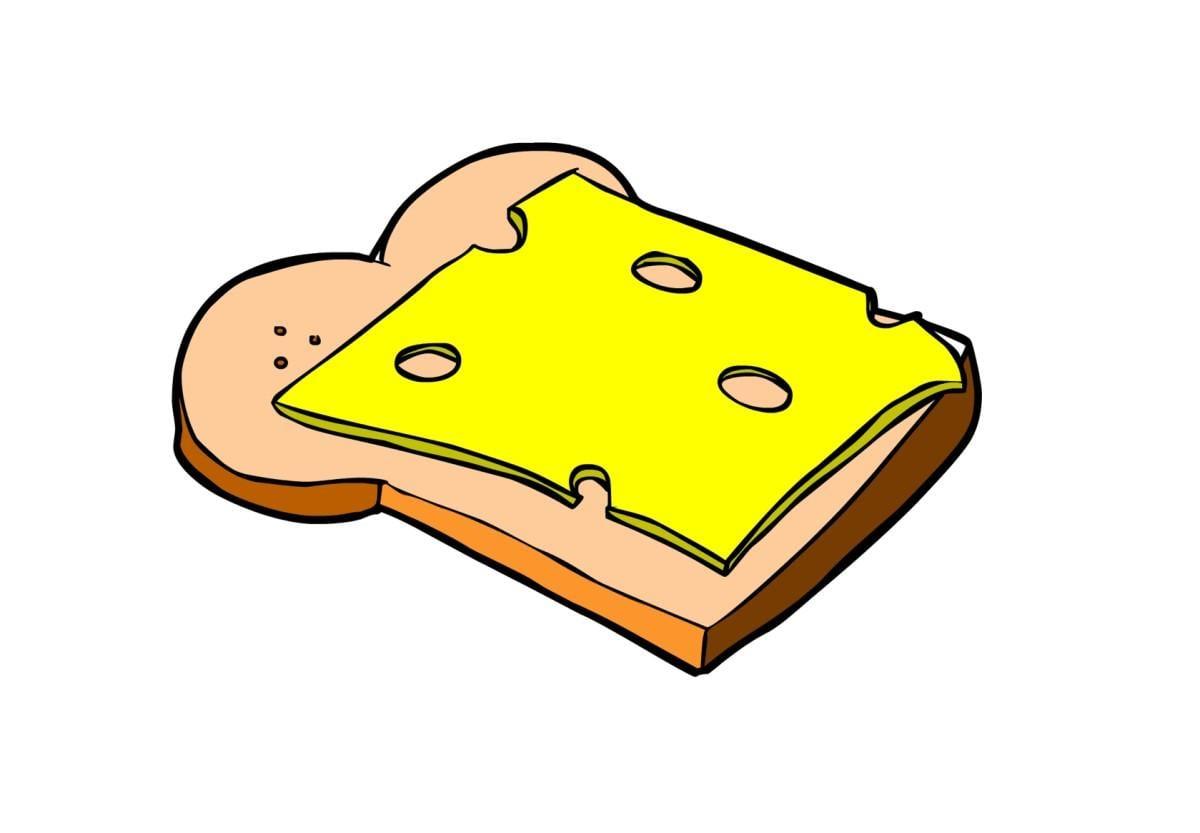 Afbeelding prent brood afb 14846 - Afbeelding in ...