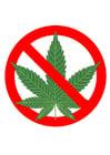 Afbeelding cannabis verboden