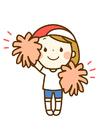 Afbeelding cheerleader