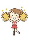 Afbeelding cheerleading