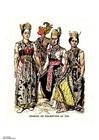 Afbeelding Dansers Java 19e eeuw