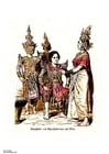 Afbeelding Dansers Thailand 19e eeuw