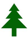 Afbeelding denneboom