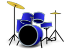 Afbeelding drumstel