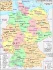 Duitsland - politieke kaart 2007