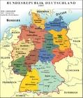 Duitsland - politieke kaart BRD 2007