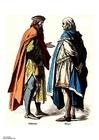 Afbeelding Edelman en stedeling 14e eeuw