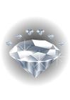 Afbeelding edelsteen - diamant