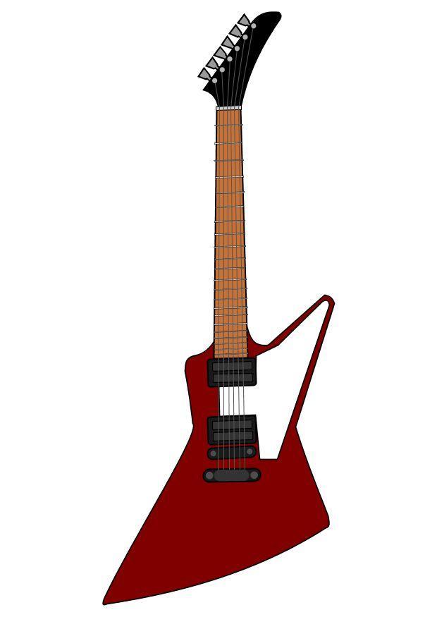 afbeelding elektrische gitaar gibson gratis afbeeldingen