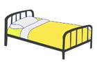 Afbeelding enkel bed