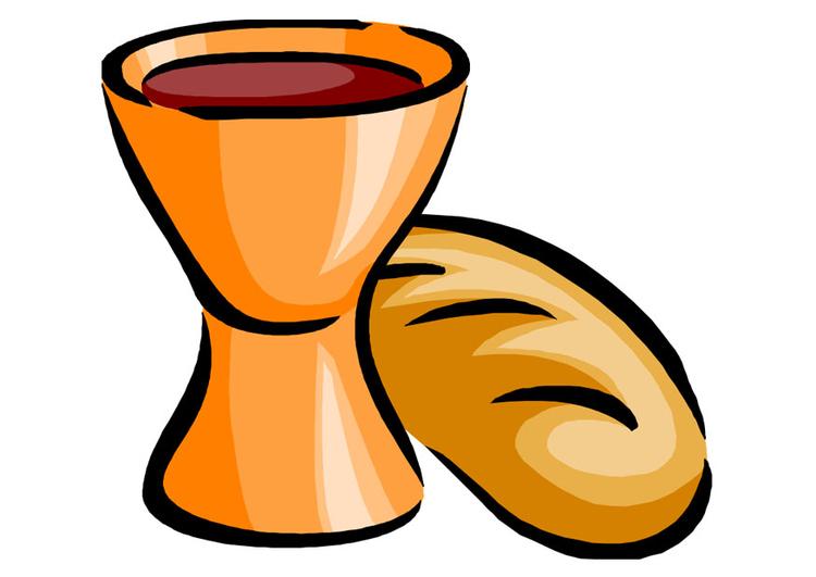 Kleurplaten Eucharistie.Afbeelding Prent Eucharistie Afb 22148