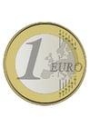 Afbeelding euro munt