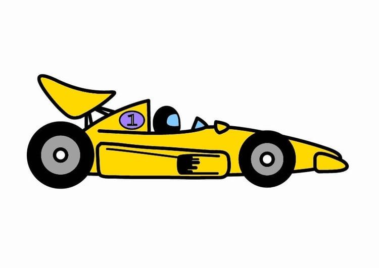 Afbeelding Prent F1 Raceauto Afb 24100