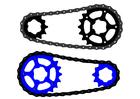Afbeelding fietsketting