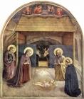 Afbeelding geboorte van Christus