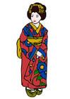 Afbeelding geisha