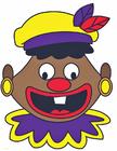 Afbeelding gekke Piet gezicht