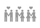 Kleurplaat gelijke rechten