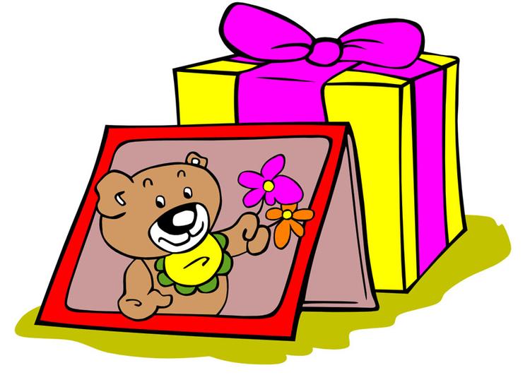 Afbeelding prent gelukkige verjaardag afb 9983 for Scarica clipart