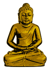 Afbeelding Gouden Boeddha