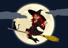 Afbeelding halloween heks