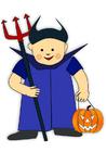 Afbeelding Halloween verkleedpak