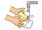 Afbeelding handen wassen