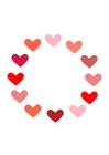 Afbeelding hartjes