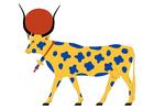 Afbeelding Hathor - koe