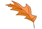 Afbeelding herfstblad