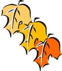 Afbeelding herfstbladeren