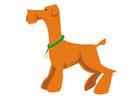 Afbeelding hond - staan