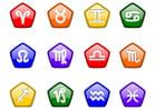 Afbeelding horoscoop tekens