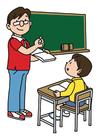 Afbeelding in de klas